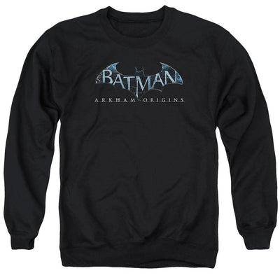 Batman - Arkham Logo Men's Crewneck Sweatshirt