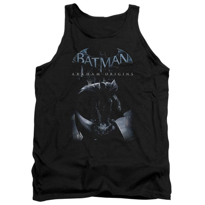 Batman - Arkham Perched Cat Men's Tank