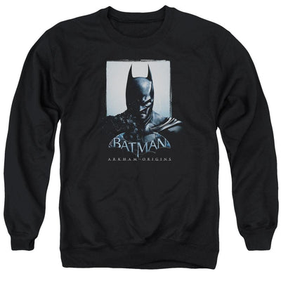 Batman - Arkham Two Sides Men's Crewneck Sweatshirt