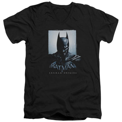 Batman - Arkham Two Sides Men's V-Neck T-Shirt
