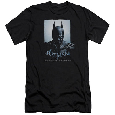 Batman - Arkham Two Sides Men's Slim Fit T-Shirt