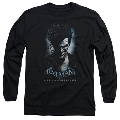Batman - Arkham Joker Men's Long Sleeve T-Shirt