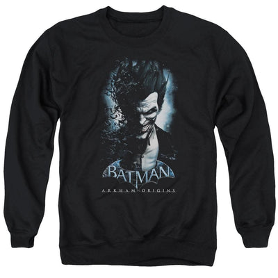 Batman - Arkham Joker Men's Crewneck Sweatshirt