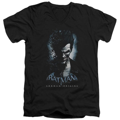 Batman - Arkham Joker Men's V-Neck T-Shirt