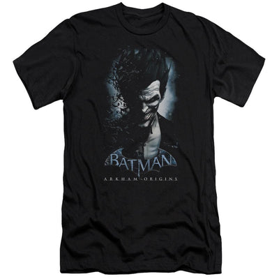 Batman - Arkham Joker Men's Slim Fit T-Shirt