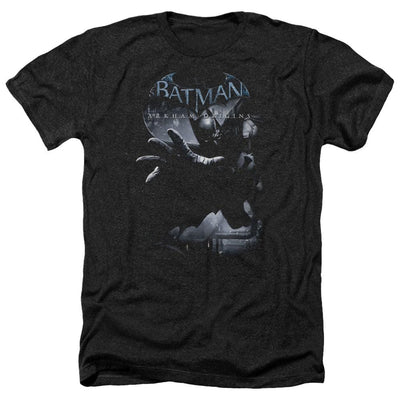 Batman - Arkham Out Of The Shadows Men's Heather T-Shirt