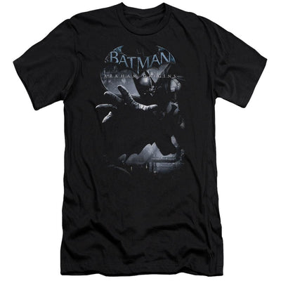 Batman - Arkham Out Of The Shadows Men's Premium Slim Fit T-Shirt