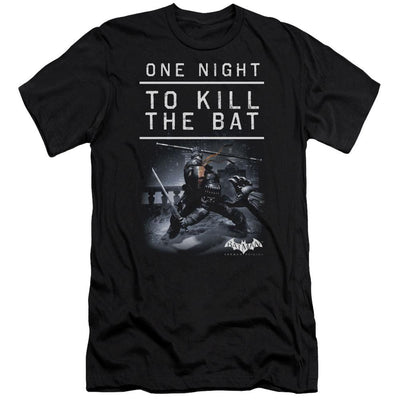 Batman - Arkham One Night Men's Slim Fit T-Shirt