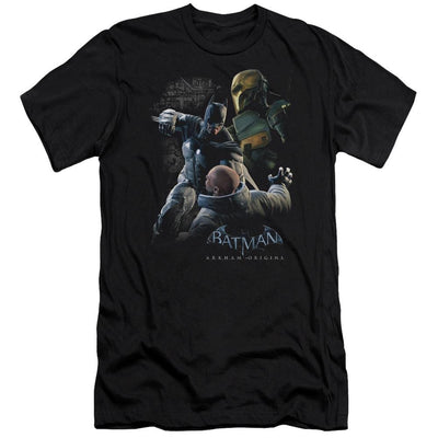 Batman - Arkham Punch Men's Slim Fit T-Shirt
