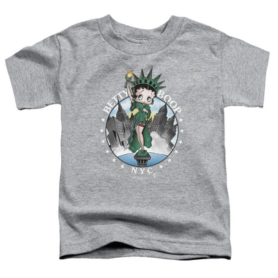 Betty Boop Nyc Toddler T-Shirt