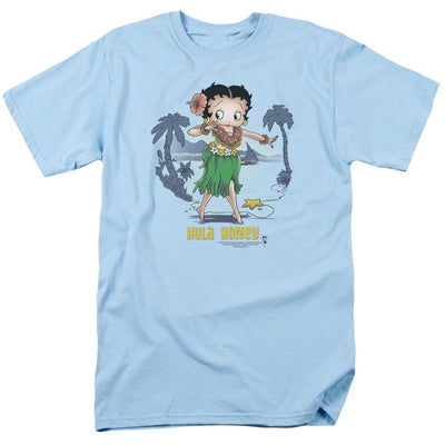 Betty Boop Hula Honey Men's Regular Fit T-Shirt