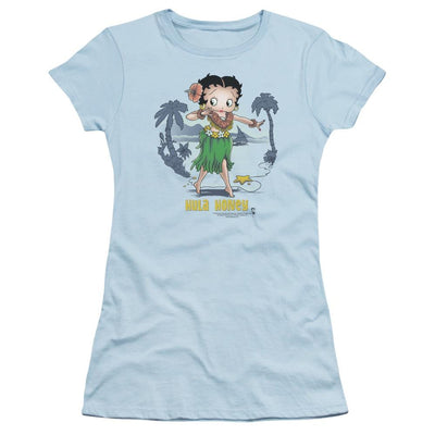 Betty Boop Hula Honey Juniors T-Shirt