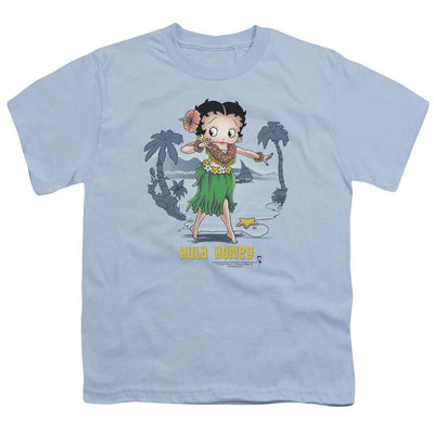 Betty Boop Hula Honey Youth T-Shirt (Ages 8-12)