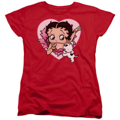 Betty Boop - I Love Betty Women's T-Shirt