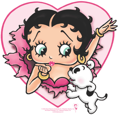 Betty Boop I Love Betty Kid's T-Shirt (Ages 4-7)