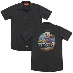 Betty Boop - Keep On Boopin Adult Work Shirt