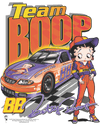 Betty Boop Team Boop Juniors T-Shirt