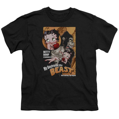 Betty Boop Boyfriend The Beast Youth T-Shirt (Ages 8-12)