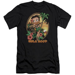 Betty Boop Hula Boop Ii Premium Adult Slim Fit T-Shirt