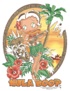 Betty Boop Hula Boop Ii Kid's T-Shirt (Ages 4-7)