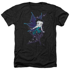 Betty Boop - Sparkle Fairy Adult Regular Fit Heather T-Shirt