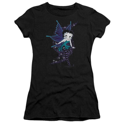 Betty Boop Sparkle Fairy Juniors T-Shirt