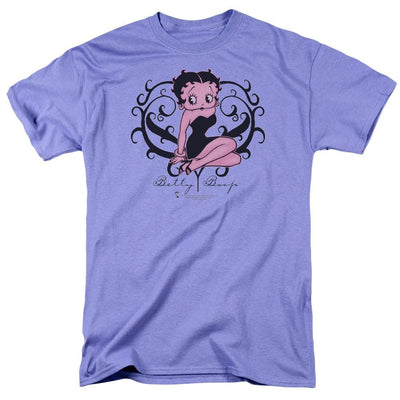 Betty Boop Scroll Heart Men's Regular Fit T-Shirt