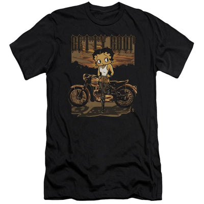 Betty Boop Rebel Rider Men's Slim Fit T-Shirt
