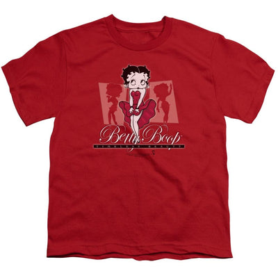 Betty Boop Timeless Beauty Youth T-Shirt (Ages 8-12)