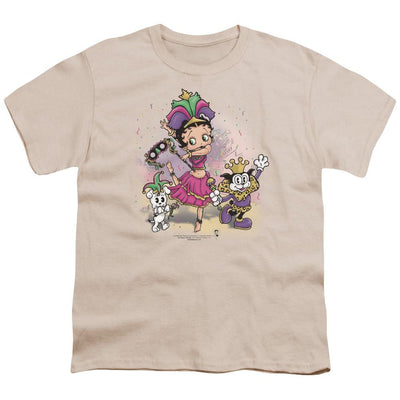 Betty Boop Celebration Youth T-Shirt (Ages 8-12)