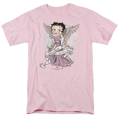 Betty Boop Grandma Guardian Angel Men's Regular Fit T-Shirt