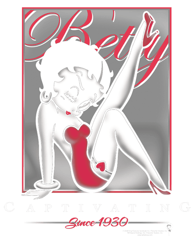 Betty Boop Captivating Juniors T-Shirt