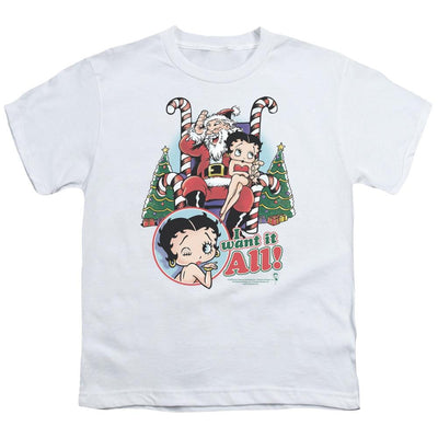Betty Boop I Want It All Youth T-Shirt (Ages 8-12)