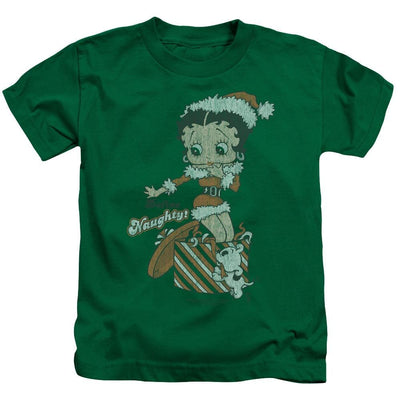 Betty Boop Define Naughty Kid's T-Shirt (Ages 4-7)