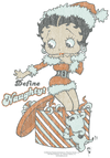 Betty Boop Define Naughty Men's Heather T-Shirt