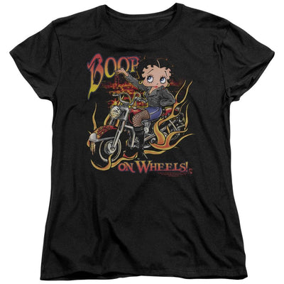 Betty Boop On Wheels Women's T-Shirt
