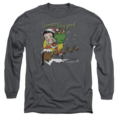 Betty Boop Chimney Men's Long Sleeve T-Shirt