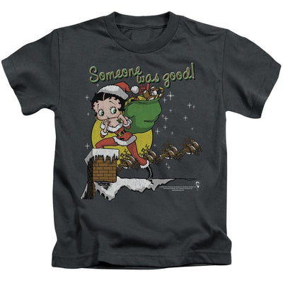 Betty Boop Chimney Kid's T-Shirt (Ages 4-7)