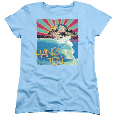 Betty Boop Hang Ten Women's T-Shirt