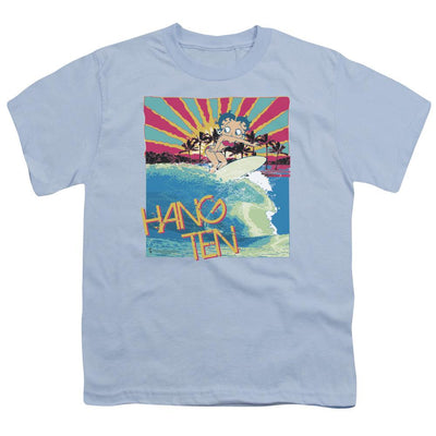 Betty Boop Hang Ten Youth T-Shirt (Ages 8-12)