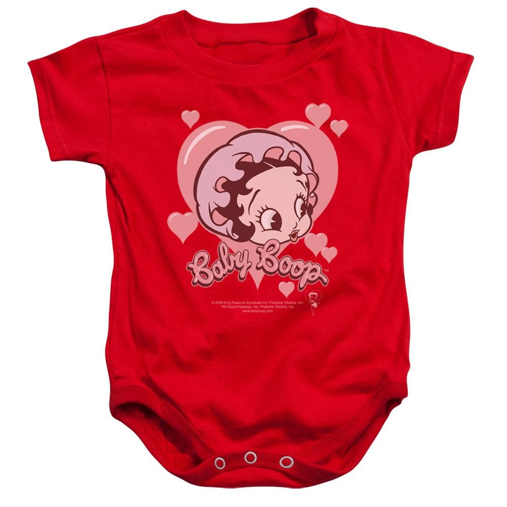 """Betty Boop /""""Baby Heart/"""" Infant One Piece Small XL"""
