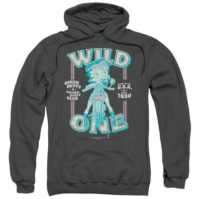 Betty Boop Wild One Pullover Hoodie