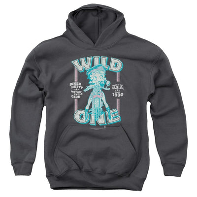 Betty Boop Wild One Youth Hoodie (Ages 8-12)