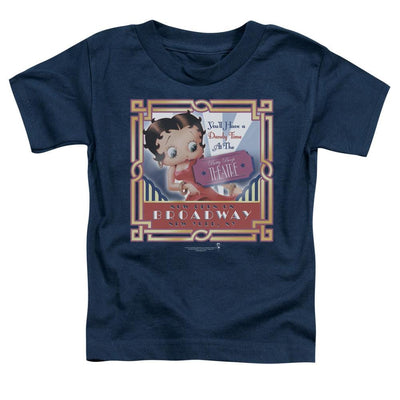 Betty Boop On Broadway Toddler T-Shirt