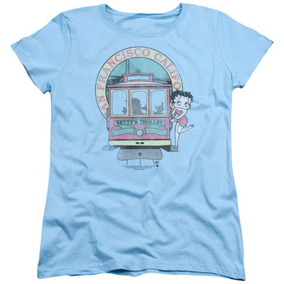 Betty Boop Bettys Trolley Women's T-Shirt