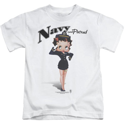 Betty Boop Navy Boop Kid's T-Shirt (Ages 4-7)