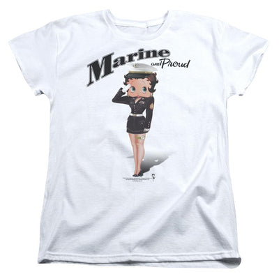 Betty Boop Marine Boop Women's T-Shirt