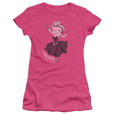 Betty Boop Gypsy Betty Juniors T-Shirt