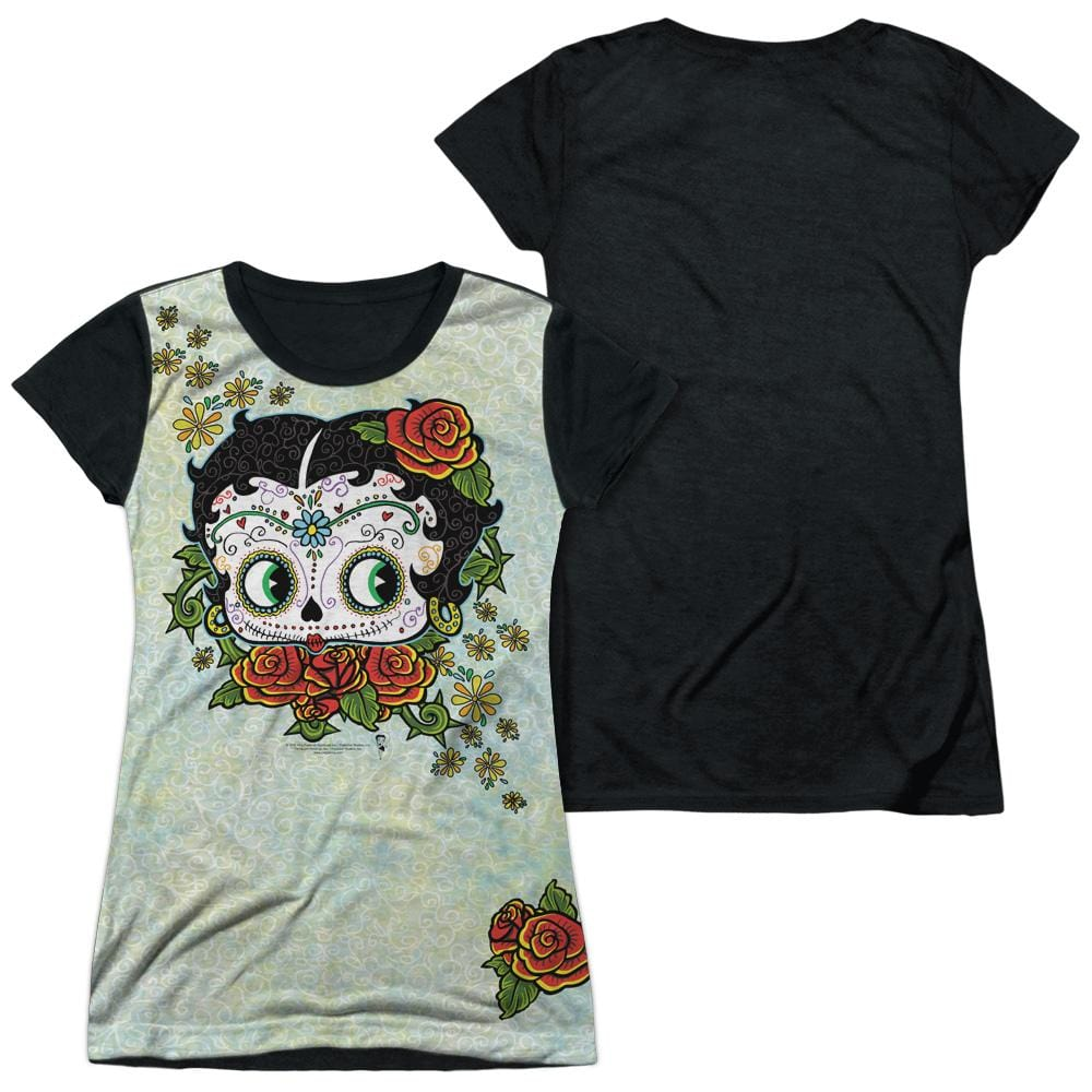 Betty Boop - Sugar Boop Junior All Over Print 100% Poly T-Shirt