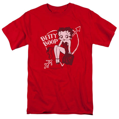 Betty Boop Lover Girl Men's Regular Fit T-Shirt
